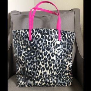 Kate Spade Daycation Leopard/Pink  Tote
